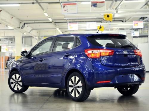 С первого марта в России начались продажи Kia Rio в кузове хетчбек