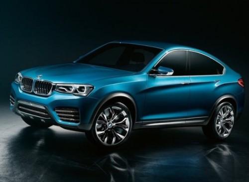 Появились первые фото купе кроссовера BMW X4