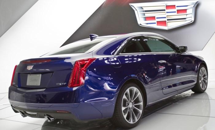 Cadillac ATS Coupe 2015-foto