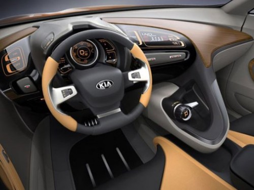 Kia GT4 Stinger-salon