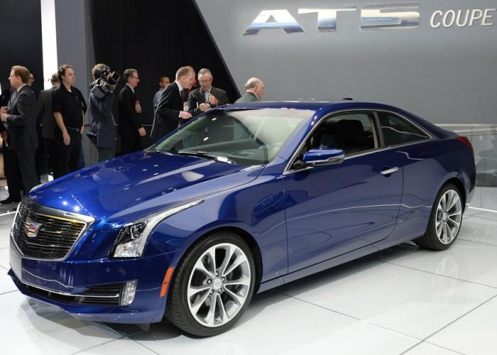 foto-Cadillac ATS Coupe 2015