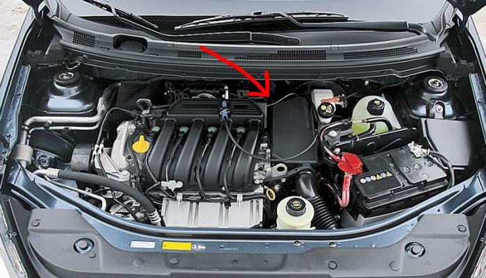 Nissan Almera-zamena-filtra