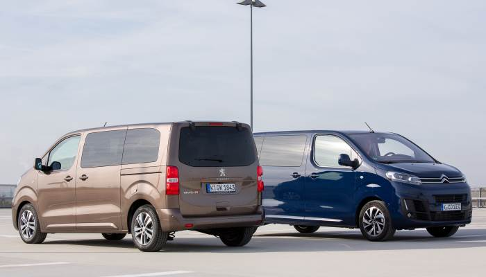Peugeot Traveller-Citroen SpaceTourer