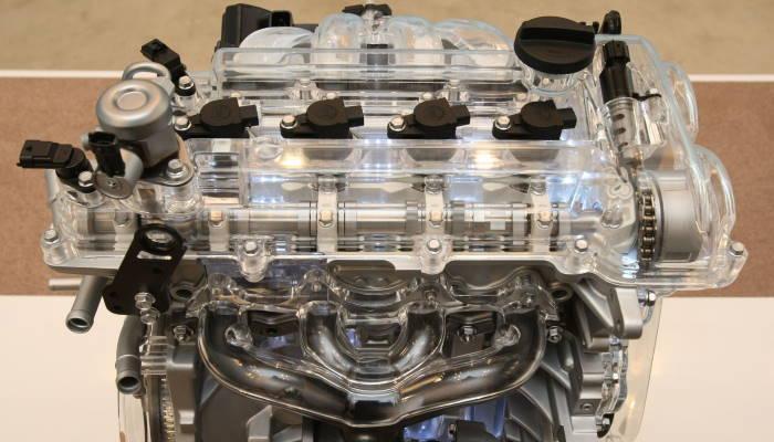 прозрачный двигатель