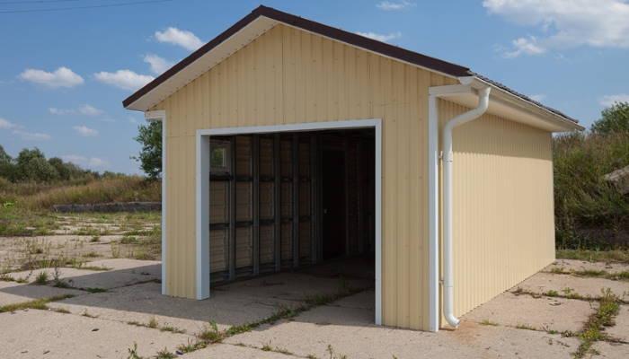 Отдельный гараж для авто