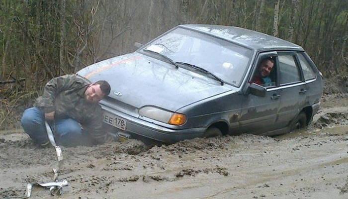 помыть машину