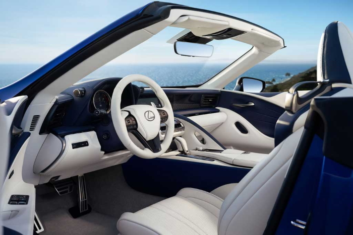 салон Lexus LC 500