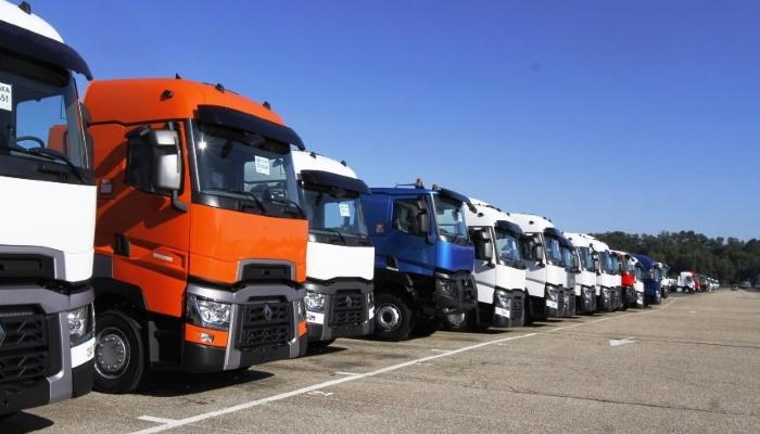 грузовики рено