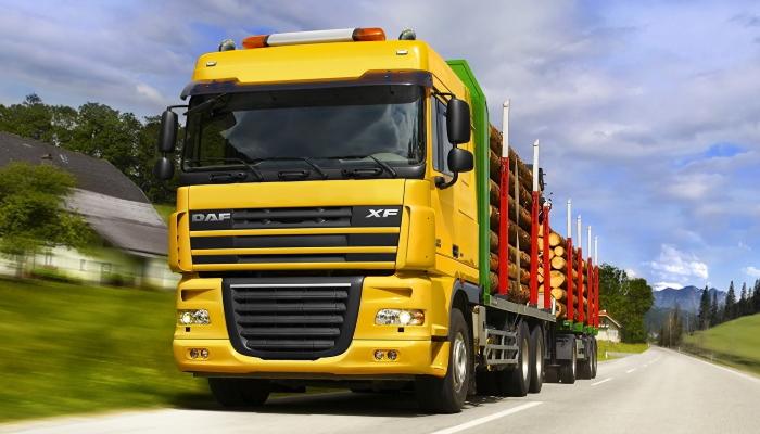 новый грузовик