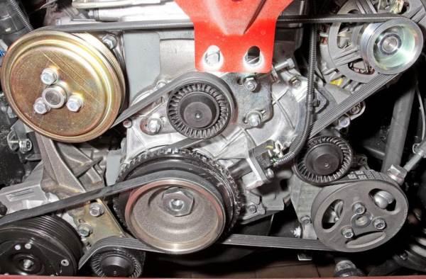 chevrolet niva zamena remnya generatora1 - Схема установки ремня генератора на шевроле нива