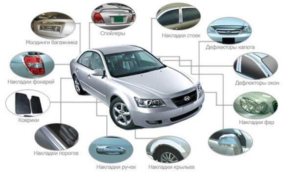 Аксессуары для тюнинга автомобилей — Авторемонт, замена своими силами